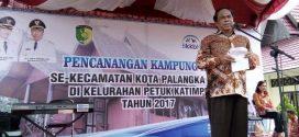 Dirjen Perencanaan Pengendalian Penduduk BKKBN Hadiri Pencanangan Kampung KB di Palangka Raya