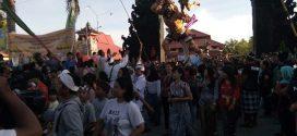Umat Hindu Palangka Raya Arak Ogoh-Ogoh Keliling Bundaran Besar
