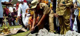 Menjelang Nyepi, Umat Hindu Palangka Raya Melaksanakan Upacara Tawur Kesanga
