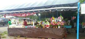 Menjelang Perayaan Paskah Umat Kristiani Palangka Raya Bersih-Bersih Kubur