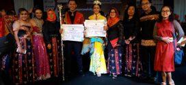 Daniel dan Kartika dinobatkan sebagai Putra dan Putri Pariwisata Kota Palangka Raya 2017