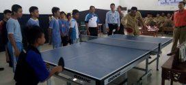 48 Anak Didik Ikuti Turnamen Tenis Meja Tingkat SD/MI dan SMP/MTs