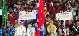 Kemah Budaya Nasional 2017 di Palangka Raya Resmi Ditutup