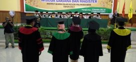 363 Mahasiswa IAIN Palangka Raya Diwisuda