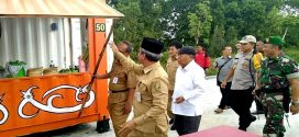 Tahap Pertama 50 PKL Tempati Taman Tunggal Sangumang Yos Sudarso