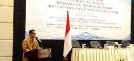 Kepala BPS Provinsi Kalteng Apresiasi Penyelenggaraan Rakonreg PDRB