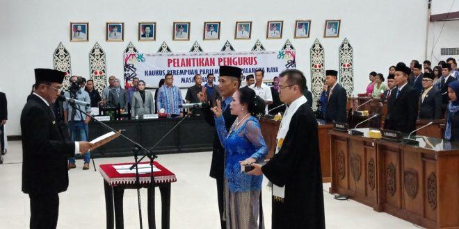 Dua Anggota PAW DPRD Palangka Raya Siap Lanjutkan Sisa Program Kerja