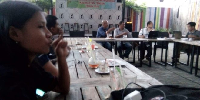 Wartawan di Palangka Raya Bentuk Aliansi Jurnalistik Online