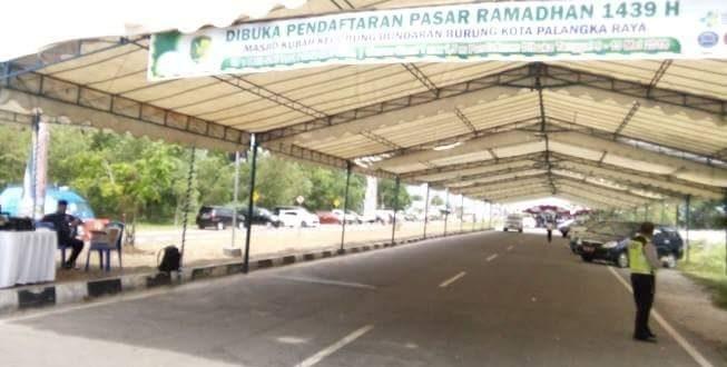 Pasar Ramadan Sudah Mulai Dibangun