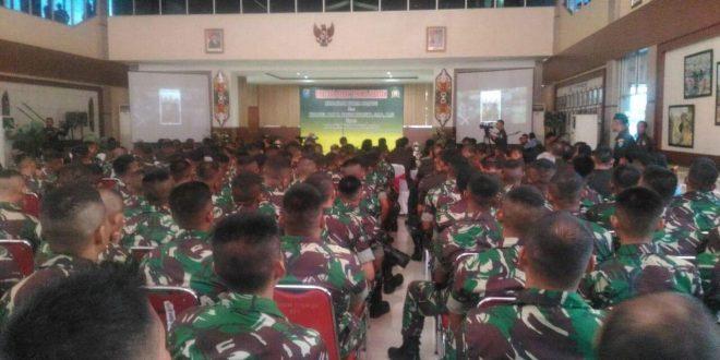 Jabatan Komandan Korem 102 Panju Panjung Berganti