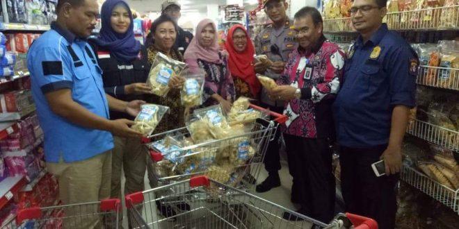 Menjelang Idul Fitri Tim Gabungan  Sidak Toko dan Swalayan di Palangka Raya