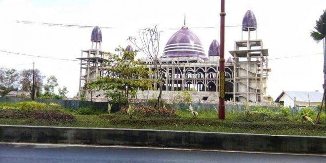 Pembangunan Masjid Kubah Kecubung Ditarget Tuntas 2019