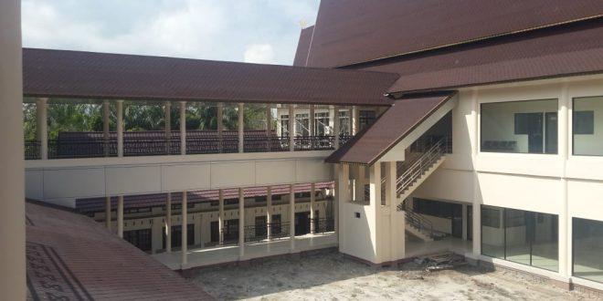 Progres Pembangunan RSUD Palangka Raya Sudah 52 Persen