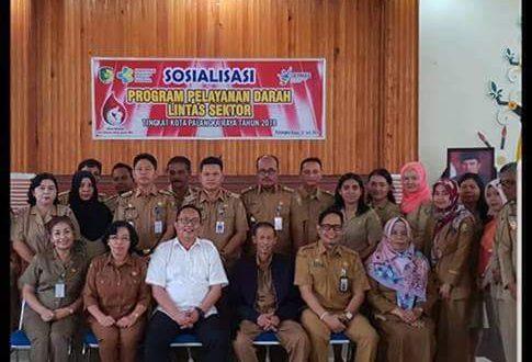 Sosialisasi Program Pelayanan Darah Lintas Sektor