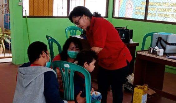 Puskesmas Hingga Posyandu di Palangka Raya Gencar Berikan Vaksin MR