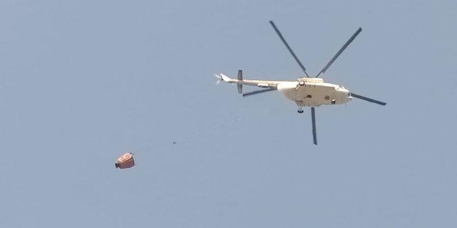 Walikota Palangka Raya Bersurat Minta Tambah 3 Helikopter Water Bombing
