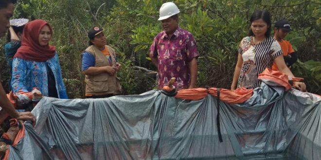 Wakil Rakyat Kagum,  Cara Personil BPBD Palangka Raya Cegah Karhutla