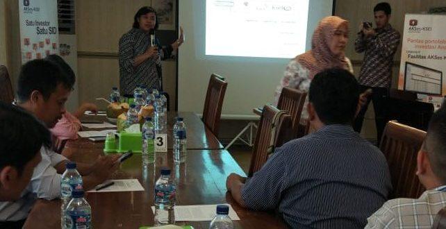 KSEI dan BEI Tawarkan Fasilitas AKSes Bagi Investor di Palangka Raya