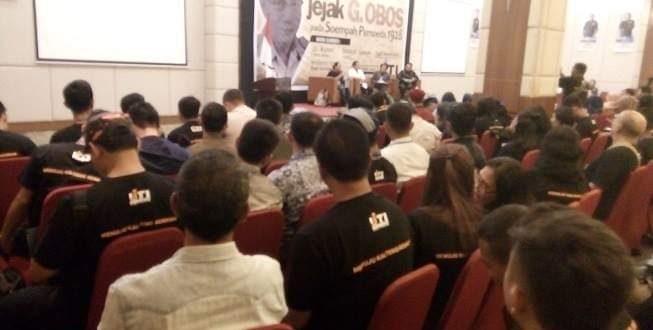 Tiga Rekomendasi dari Seminar Pahlawan Perintis Kemerdekaan G Obos