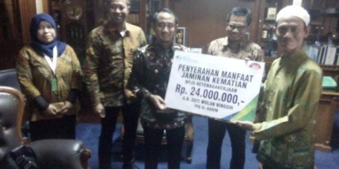 Semua Pegawai Honorer Lingkup Pemko Wajib Jadi Peserta BPJS Ketenagakerjaan