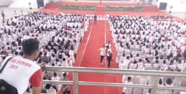 1.200 Orang Pemuda-Pemudi di Palangka Raya Ikrar Untuk Indonesia Satu