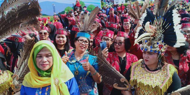 Kontingen Kalteng Ikut Memeriahkan PORSENI Nasional IX IGTKI PGRI