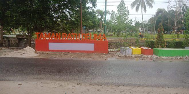 Taman Ratu Delima Bakal Manjakan Warga Palangka Raya