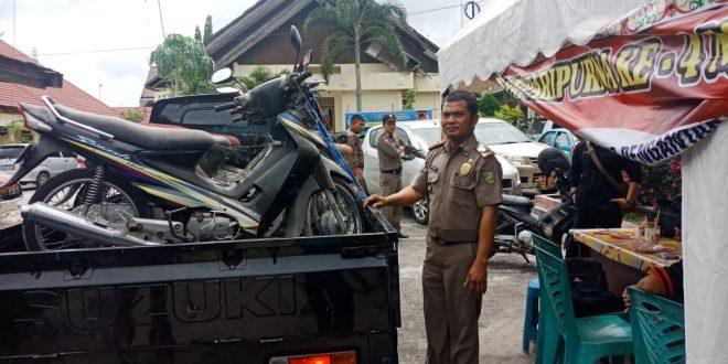 Pol PP Palangka Raya Dapat Kendaraan Operasional