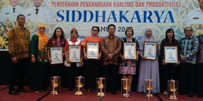"Empat UMKM Palangka Raya Terima Penghargaan ""Siddhakarya"""