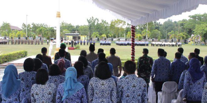 Pemko Palangka Raya Peringati Tiga Hari Besar Nasional