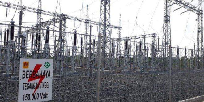 Kebutuhan Listrik Kalteng 190,61 Mega Watt