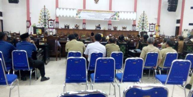 Semua Fraksi DPRD Palangka Raya Setujui RAPBD 2019