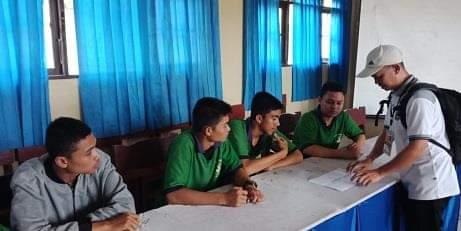 Siswa SMAN Kalampangan Disosialisasi Materi Pemilu 2019
