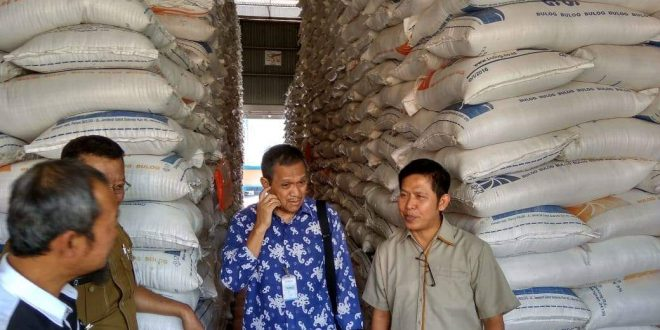 Staf Khusus Menteri Perdagangan Cek Stok Pangan di Palangka Raya