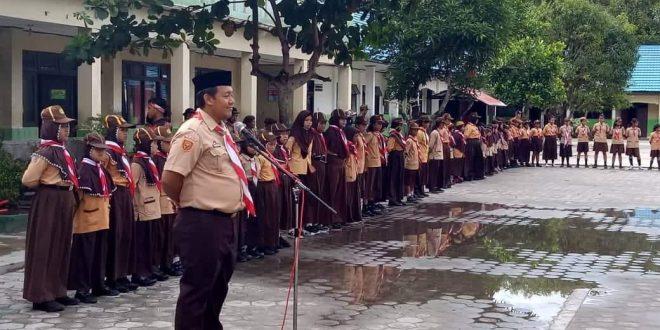 Latihan Gabungan Golongan Siaga Seluruh Kecamatan Jekan Raya