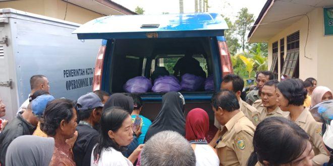 Operasi Pasar Murah di Kelurahan Langkai Diserbu Warga