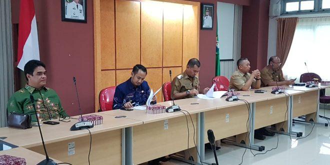 Wali Kota Palangka Raya Kunker Ke Kabupaten Tanah Laut