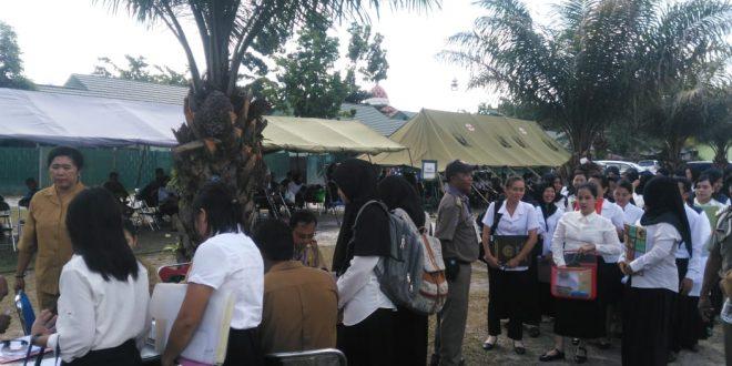 374 Peserta CPNS Pemko Palangka Raya Bersiap Ikut Tes SKB