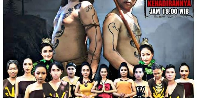 FKIP UPR  Gelar Pentas  Karya Seni Sendratasik