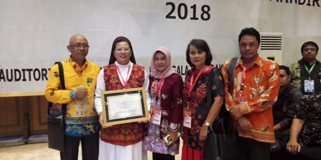 SD Katolik Santa Maria Palangka Raya Terima Penghargaan Adiwiyata Tingkat Nasional Tahun 2018