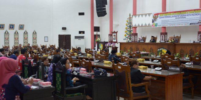 Dalam Sehari DPRD Kota Palangka Raya Adakan Dua Rapat Paripurna