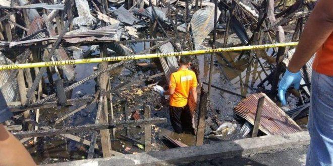 11 Bangunan di RT 03 Kelurahan Pahandut Terbakar