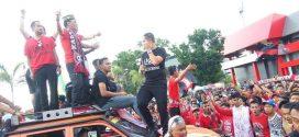 Walikota Ikuti Konvoi Kalteng Putra Menyambut Liga 1