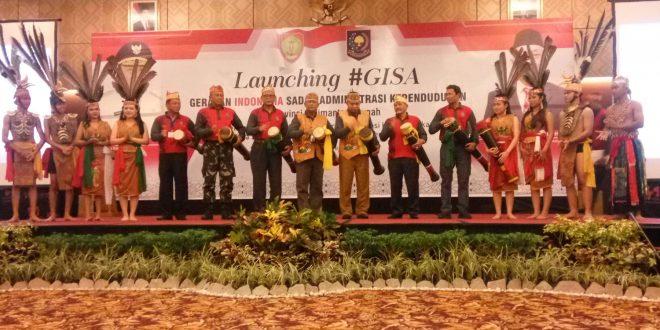 Pemerintah Launching GISA di Palangka Raya