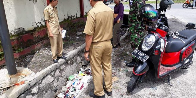 Pembangunan Depo Sampah Jalan G Obos 12 Dilanjutkan