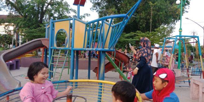 Taman Kota di Palangka Raya Wadah Edukasi Bernuansa Alam