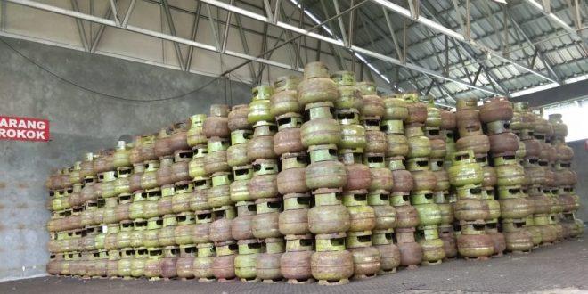 Agen LPG Sebut Pasokan LPG 3 Kg di Palangka Raya Aman dan Lancar