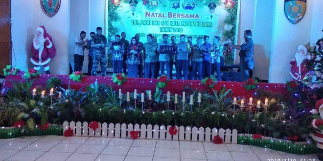 Natal Bersama, Merajut Kebersamaan TNI, Polri dan ASN di Palangka Raya
