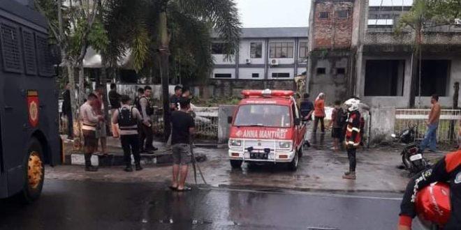 Gudang Kayu Milik Anggota KPI Terbakar