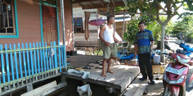 Debit Air Sungai Meninggi, Rembesan Air Masuk Pemukiman